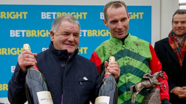 Brian Ellison (left): has had plenty to celebrate of late