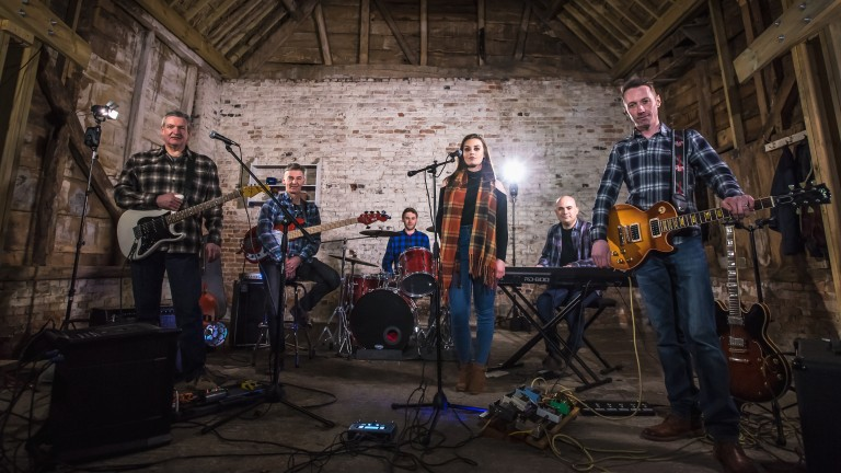 Lambourn band Uncovered has released its own version of Lean On Me to raise money for Racing Welfare