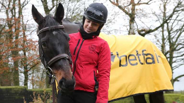 """Shall we invite Gordon to the party this time?"""" Kate Harrington with Sizing John"""