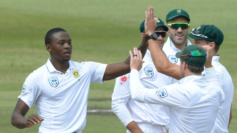 Fast bowler Kagiso Rabada is hoping to inspire South Africa to victory