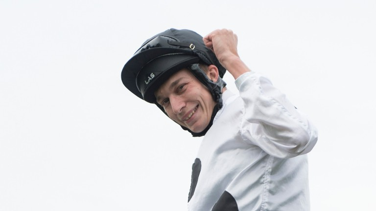 Luke Morris: a busy Saturday on the all-weather for the Flat jockey
