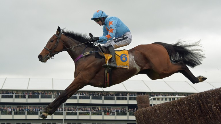 Ruby Walsh on the way to victory in last year's Ryanair Chase on Un De Sceaux, who will be a key hope for him this year