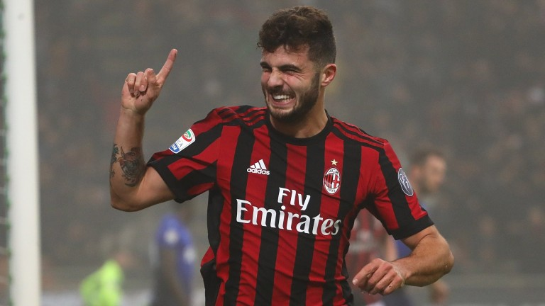 Patrick Cutrone has caught the eye for Milan