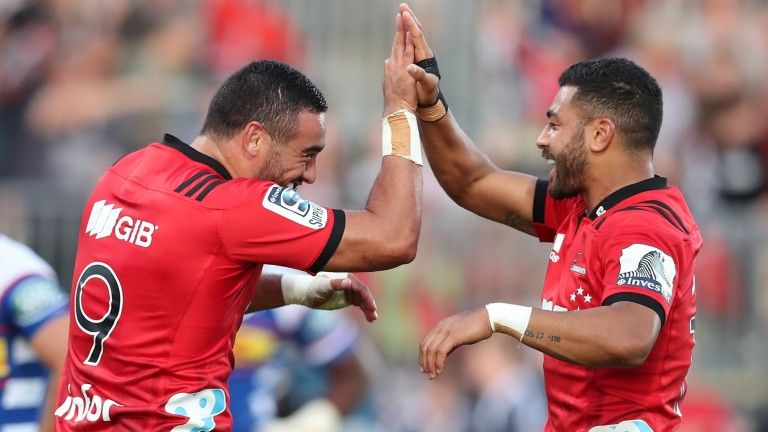 Super Rugby champions the Crusaders boast plenty of firepower