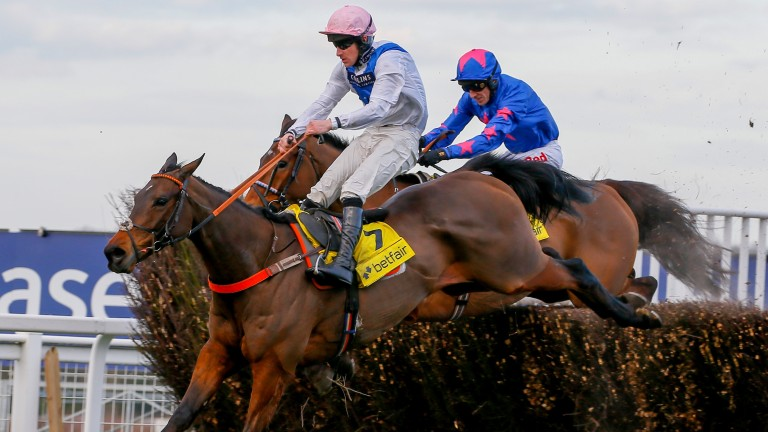 Waiting Patiently: the Grade 1-winning chaser could be Aintree-bound