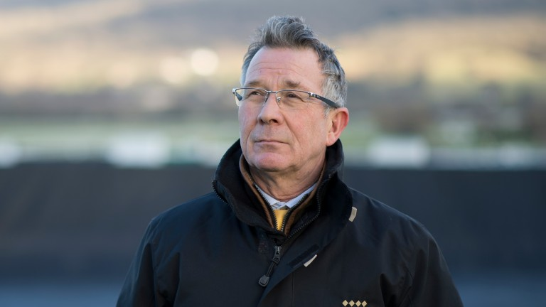 Cheltenham clerk of the course Simon Claisse: no question of the meeting being in any doubt