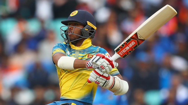 Kusal Mendis looks at home at the top of the order for Sri Lanka