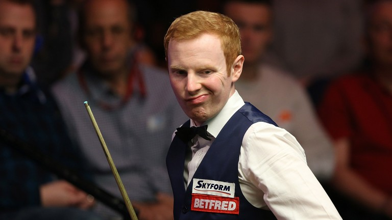 Anthony McGill could face a tough test against Lee Walker