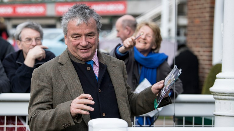 Relief for Nigel Twiston-Davies as the placings remain unaltered