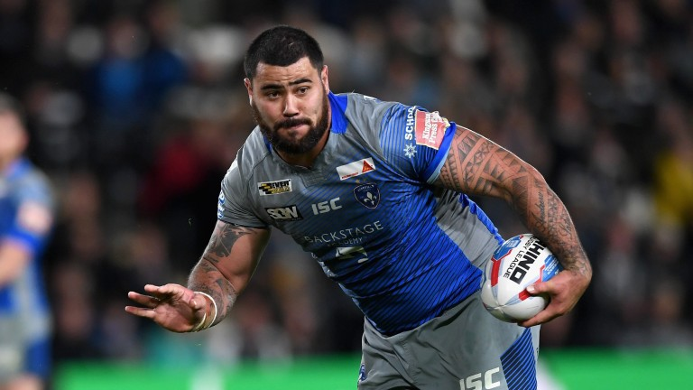 Wakefield David Fifita could be a handful for Wigan