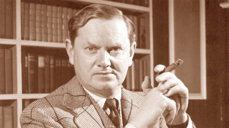 "Evelyn Waugh: ""a grumpy old thing but very fond of cakes"""