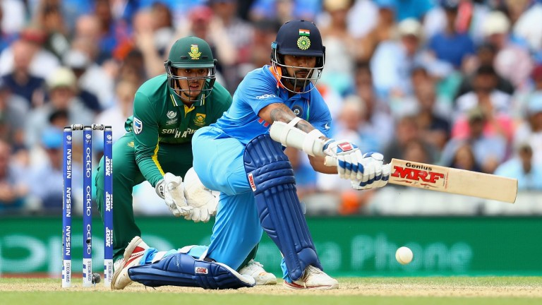 India opener Shikhar Dhawan has an excellent record in major tournaments