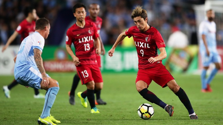 Kashima's Yuma Suzuki weaves his magic against Sydney FC in Australia earlier this month