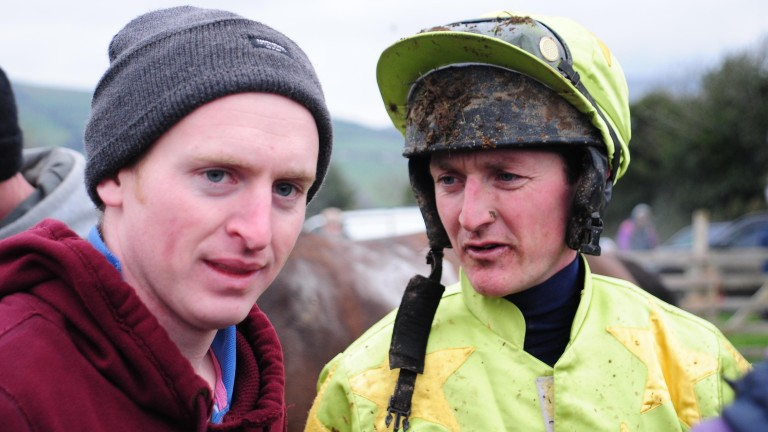Donnchadh Doyle (left): bringing four of his nine weekend winners to the Cheltenham sales this week