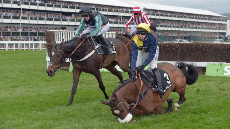 Charbel had every chance when crashing out in last year's Arkle Trophy