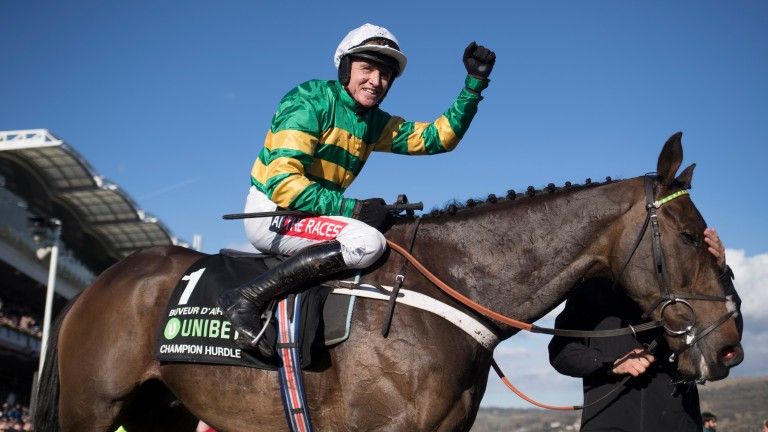 Buveur D'Air: won the Champion Hurdle for favourite backers
