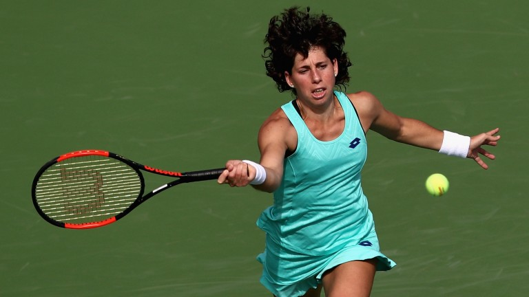 Carla Suarez Navarro has worked her way back to somewhere near her best