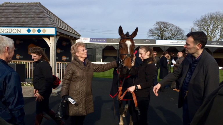 Chandos Belle: looks to be an improver over longer trips