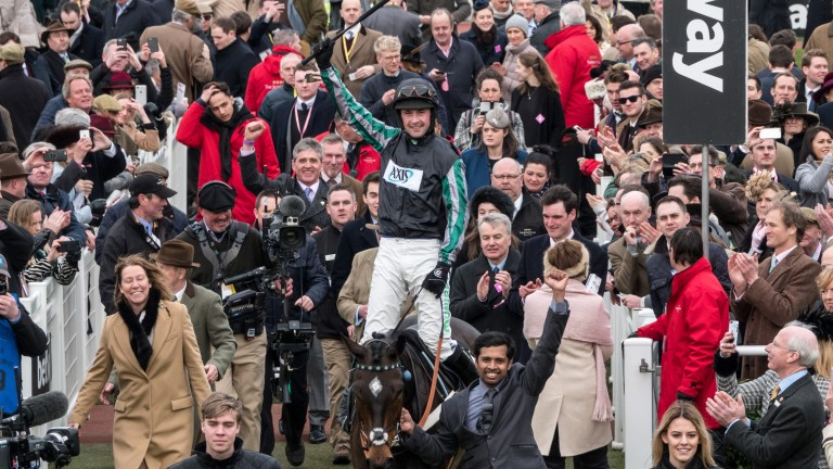 "Betway: ""The Samcro, Presenting Percy and Altior treble was the one we were fearing"""