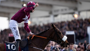 Shattered Love: the brilliant JLT Novices' Chase winner is in line to run in the Grade 1 Ryanair Novice Chase