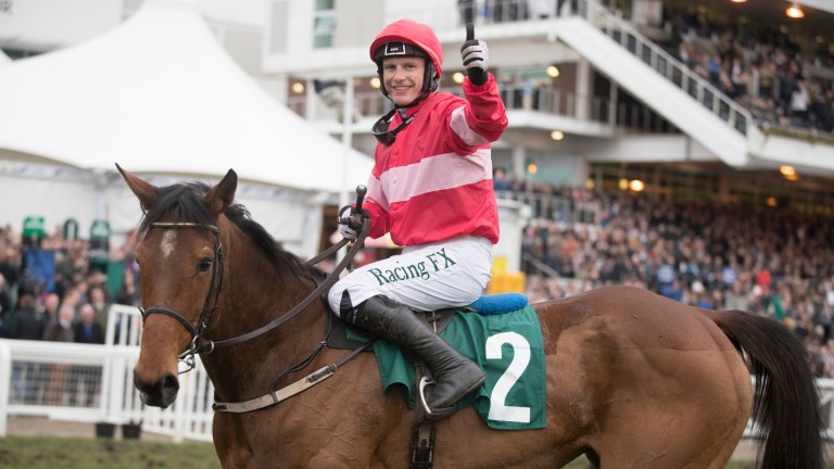 Laurina and Paul Townend destroy the Trull House Stud Mares' Novices' Hurdle field by 19 lengths