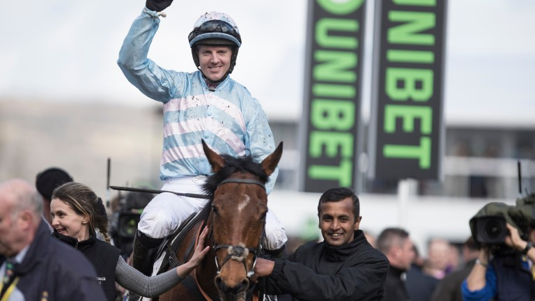 Summerville Boy and Noel Fehily: the Supreme Novices' Hurdle winner will be kept over hurdles next season by trainer Tom George