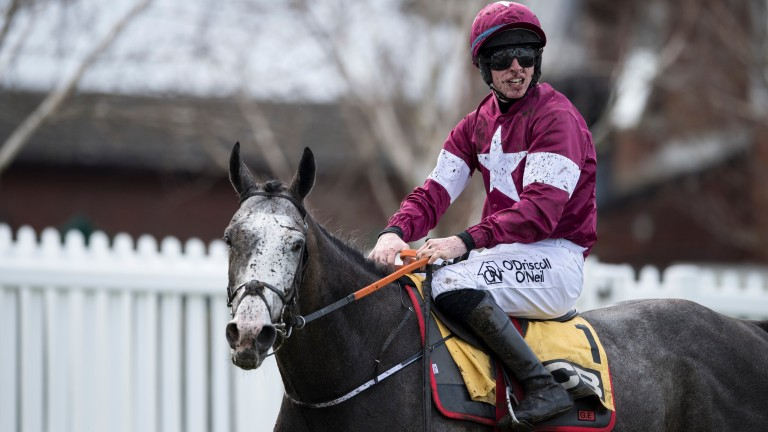 Farclas was giving Jack Kennedy his fourth winner of the festival