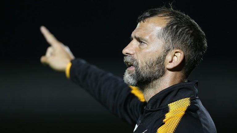 Cambridge manager Joe Dunne