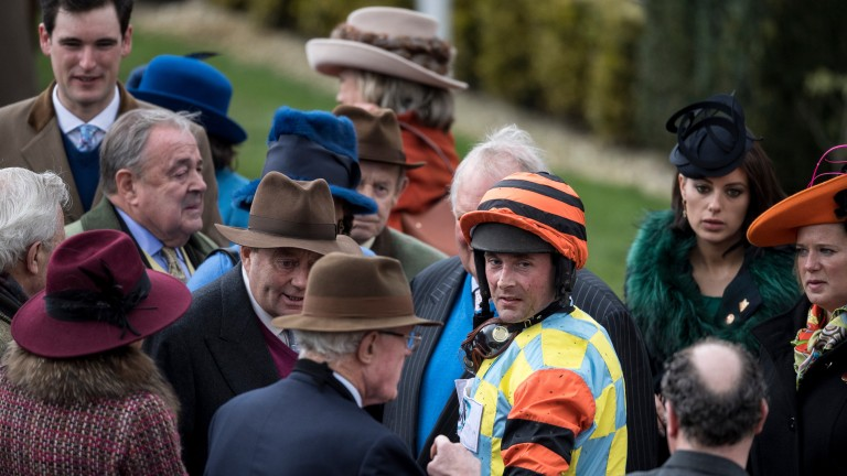 Might Bite's connections debrief after his gallant second in the Cheltenham Gold Cup