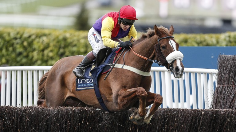 Native River fell short in the Betfair Chase but will be a contender for the King George
