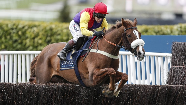 Richard Johnson overused the whip on board Native River in the Gold Cup