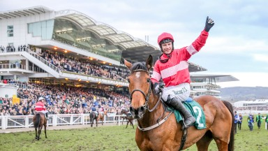 LAURINA Ridden by Paul Townend wins at CHELTENHAM  15/3/18Photograph by Grossick Racing Photography 0771 046 1723