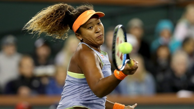 Naomi Osaka has dropped only one set on her way to the final