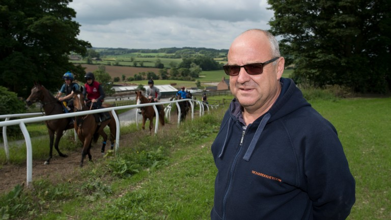 Richard Fahey: responsible for 33 entries at Newcastle