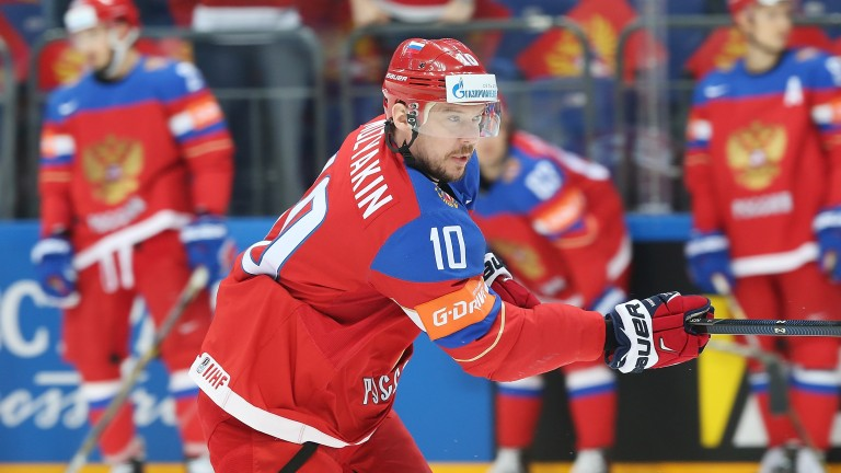 Metallurg captain Sergei Mozyakin, a stalwart for Russia at the Winter Olympics, is the playoffs' top scorer