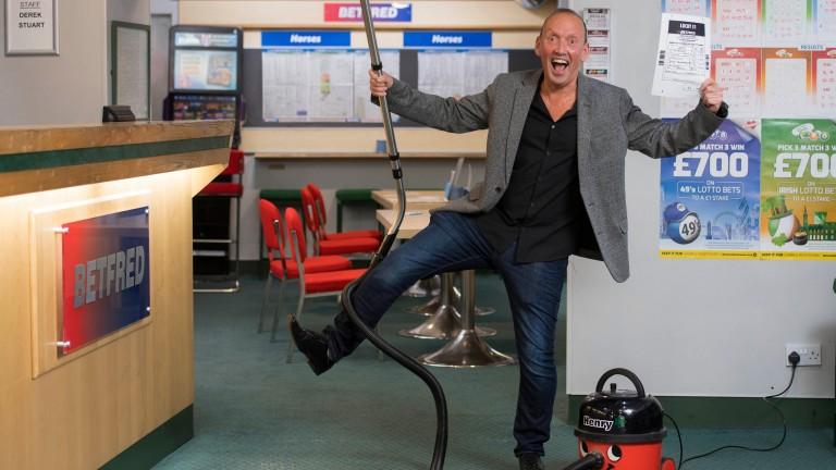 Martin Palk: struck the Lucky 31 at the Cheltenham Festival