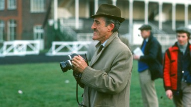 The Duke of Alburquerque attending Aintree as a spectator in 1976