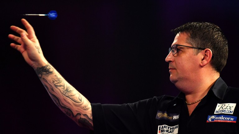 Gary Anderson has won only one of his six Premier League matches this season