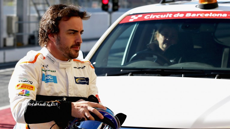 Fernando Alonso will be hoping for better from McLaren this year