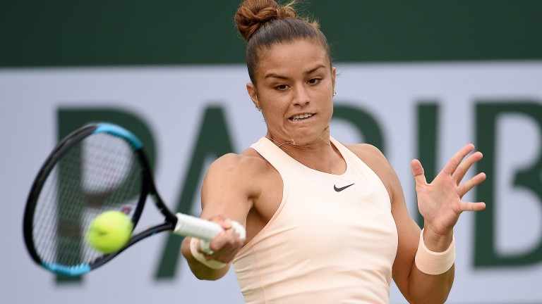 Maria Sakkari faces Anett Kontaveit in Miami