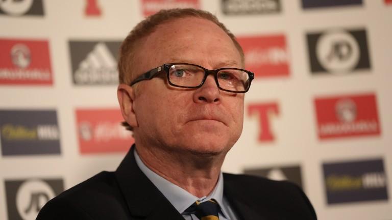 Scotland manager Alex McLeish makes his Scotland squad announcement