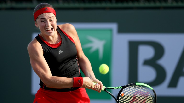 Jelena Ostapenko has a big opportunity to notch a victory