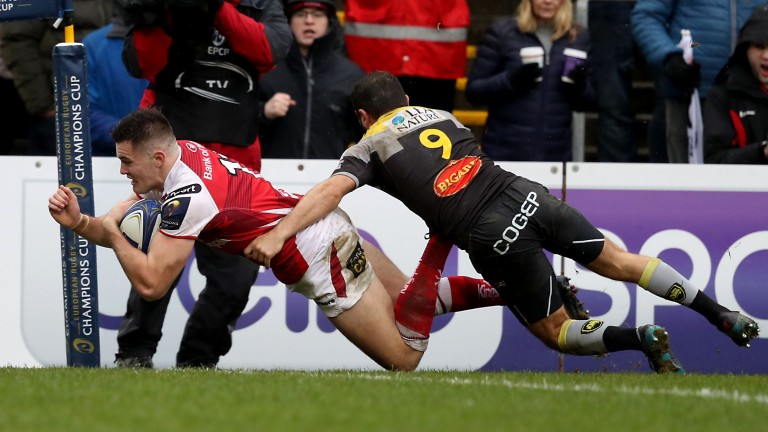 Winger Jacob Stockdale, top tryscorer in the Six Nations, returns for Ulster