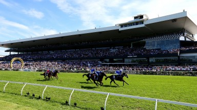 Heaven 17: Winx (Hugh Bowman) wins her 17th Group 1 with a comfortable success in the George Ryder Stakes at Rosehill