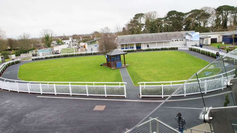 Naas racecourse: hosting the first day of the new Flat season in Ireland today
