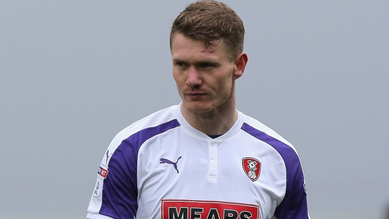 Michael Smith of Rotherham United