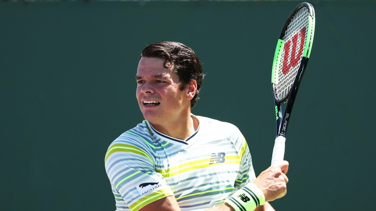 Milos Raonic has upped his form since taking on Goran Ivanisevic as coach