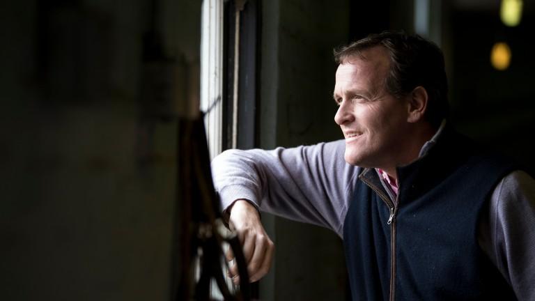 Richard Hannon: trainer of Bombshell Bay