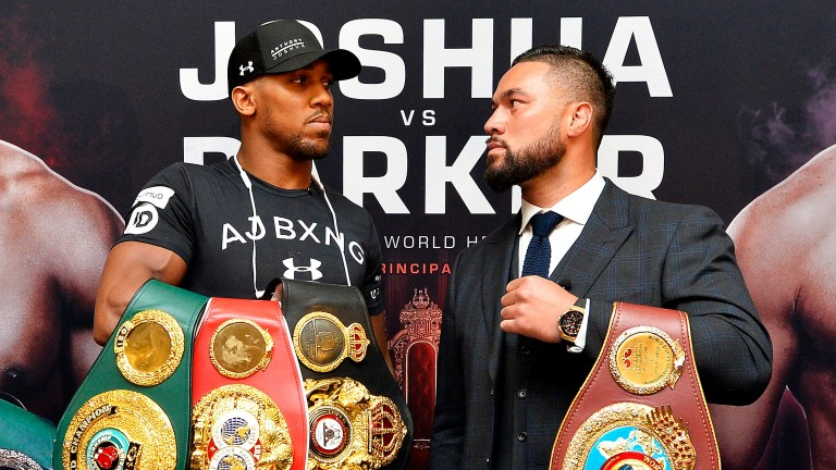 Anthony Joshua and Joseph Parker clash in Cardiff on Saturday night