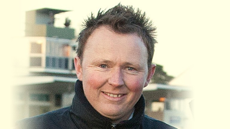 Nathan Horrocks: the former jump jockey is 43